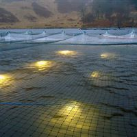 Underwater lights in Loch Shiel