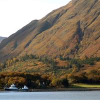 Well boat at Ardgour, Loch Linnhe