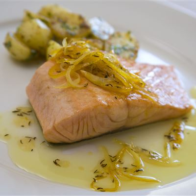 Cumin and Citrus salmon