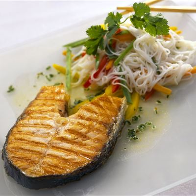 Griddled Scottish Salmon