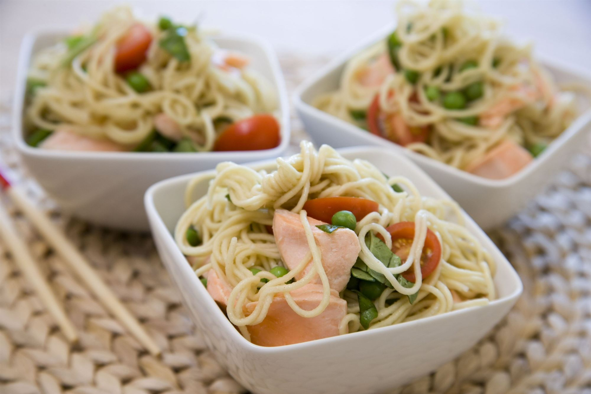 Pinky Green Noodles