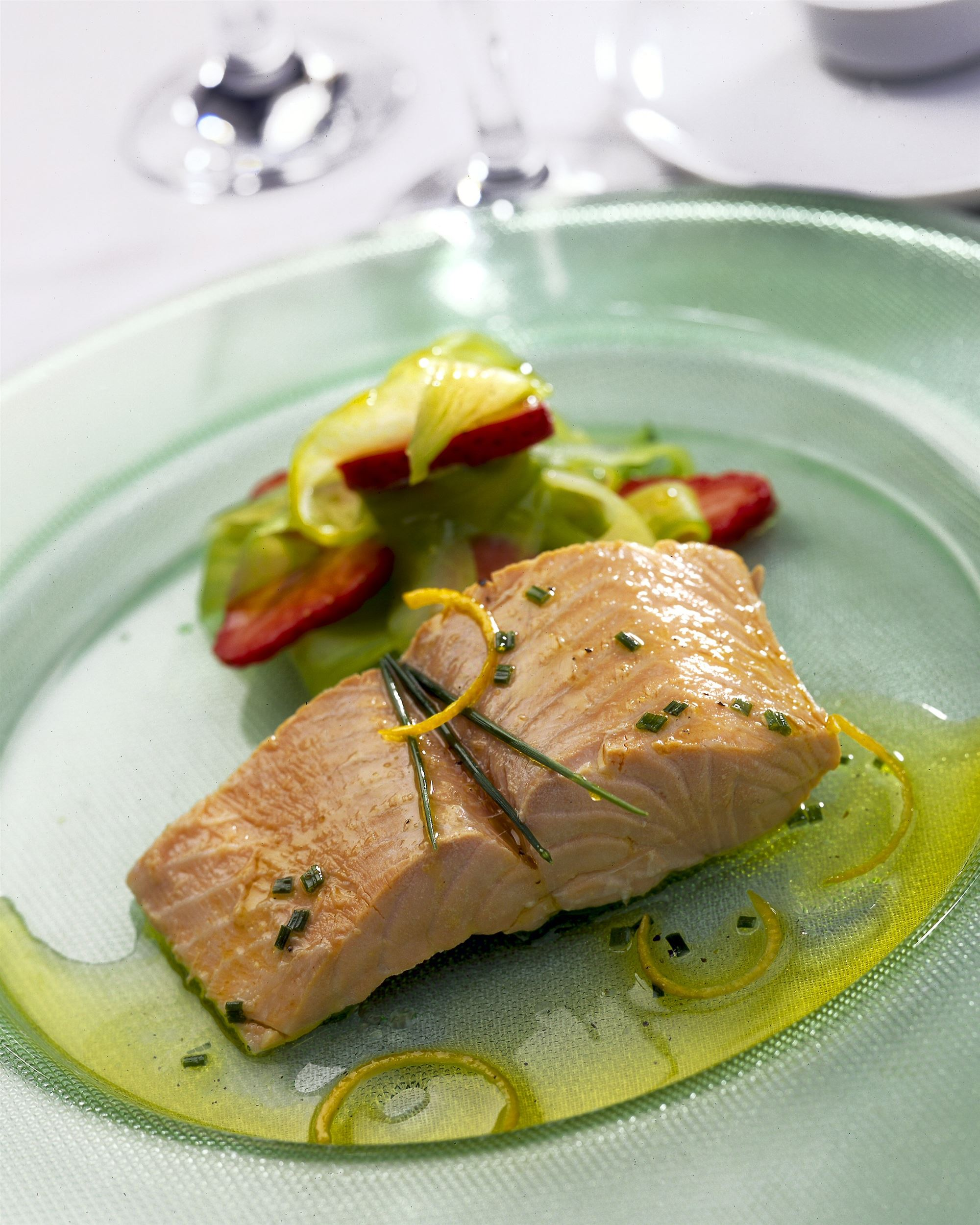 Poached Scottish Salmon