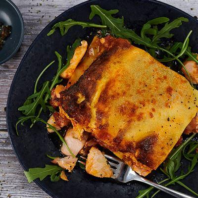 Salmon Lasagne (MOWI style)