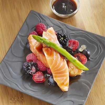 Salmon Sashimi Style