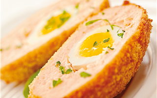 Salmon Scotch Egg