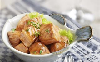 Stir-Fried Salmon